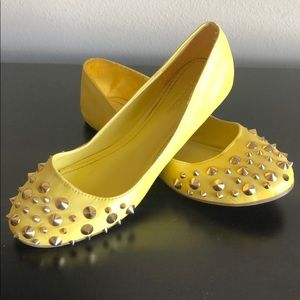 Studded Ballerina Flats - size 9.5 (fits like 9)